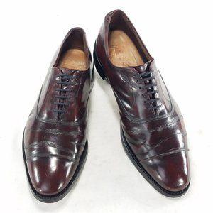 Allen Edmonds Park Avenue Burgandy Dress Shoes
